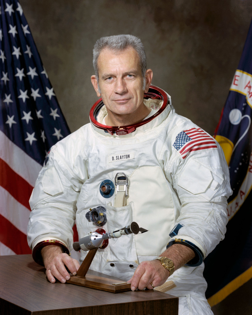 Astronaut Donald Slayton