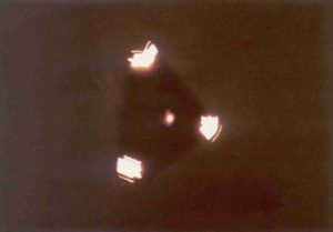 Close encounter with alien craft