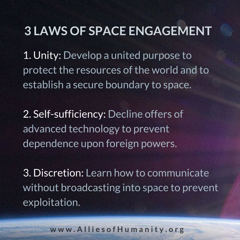 How to communicate without broadcasting into space